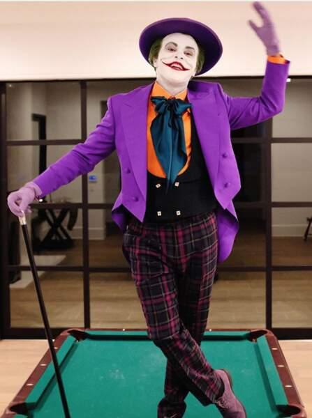 The Weeknd bluffant en Joker version Jack Nicholson !