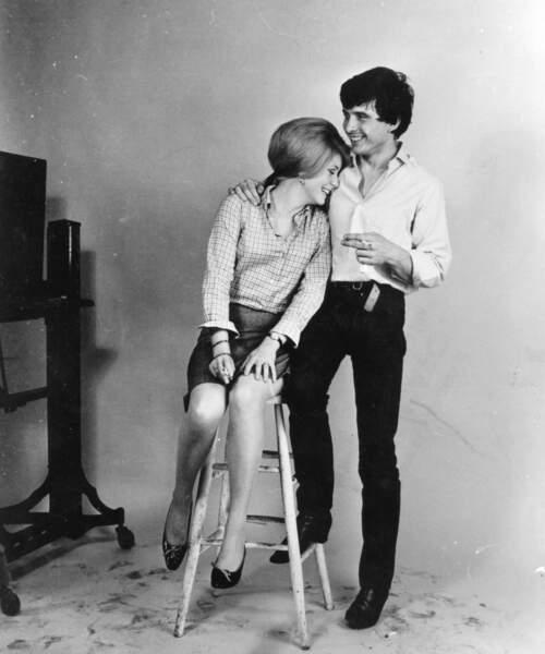 Ils se séparent en 1967, mais le divorce n'est prononcé qu'en 1972