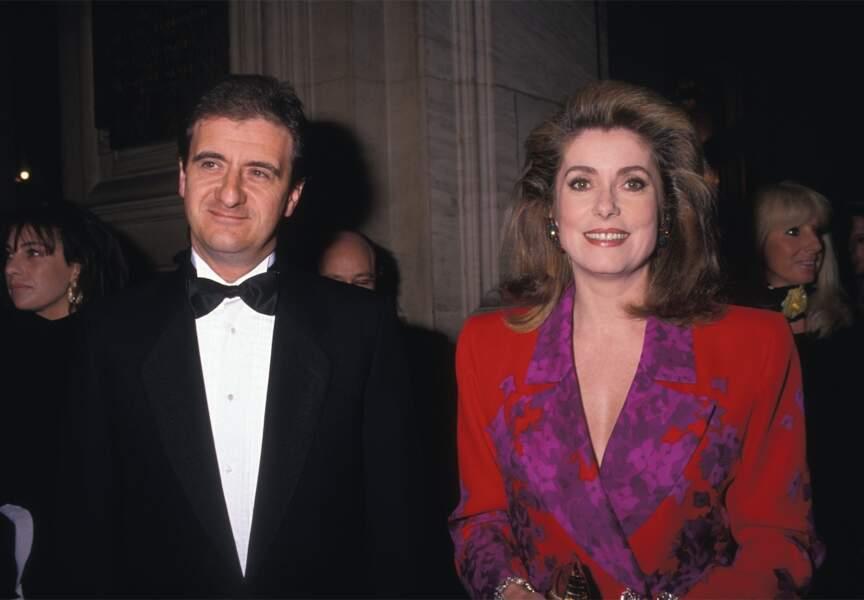 Ils vivent ensemble de 1983 à 1991