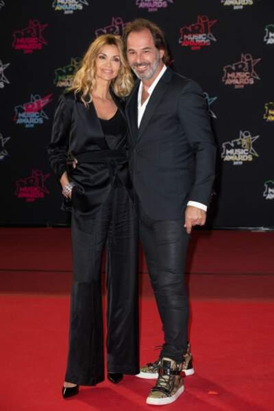 Ingrid Chauvin et son mari Thierry Peythieu.