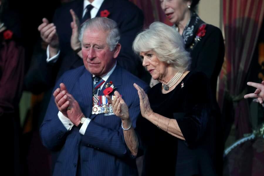 Le prince Charles et Camilla Parker Bowles ce samedi 9 novembre.