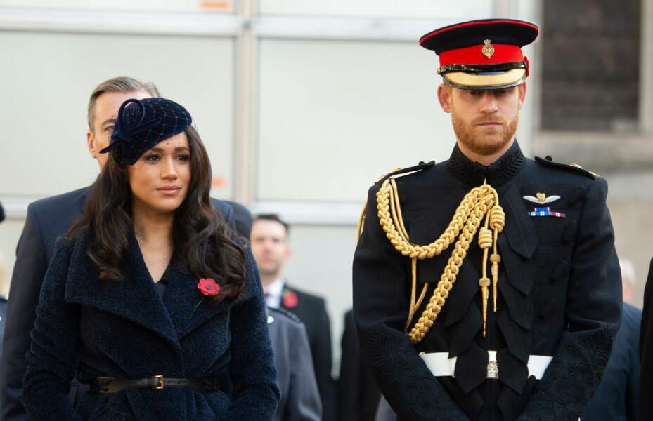 Le Prince Harry et Meghan Markle ce samedi 9 novembre.