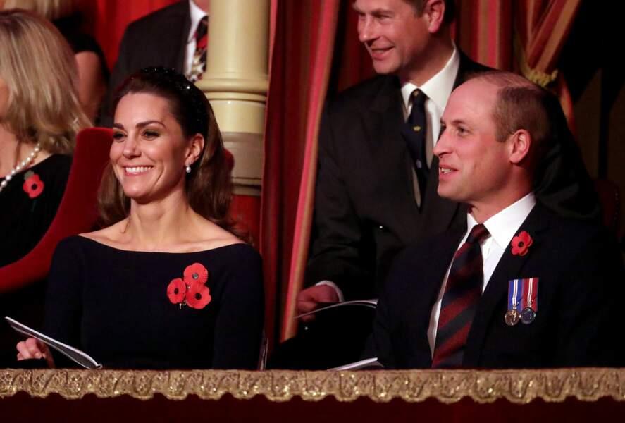 Ce samedi 9 novembre, le prince William, Kate Middleton, le prince Harry et Meghan Marle, étaient réunis pour célébrer un évènement important.