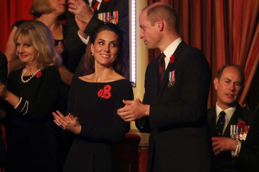 Kate Middleton et le prince William se trouvaient à bonne distance de Meghan et Harry.