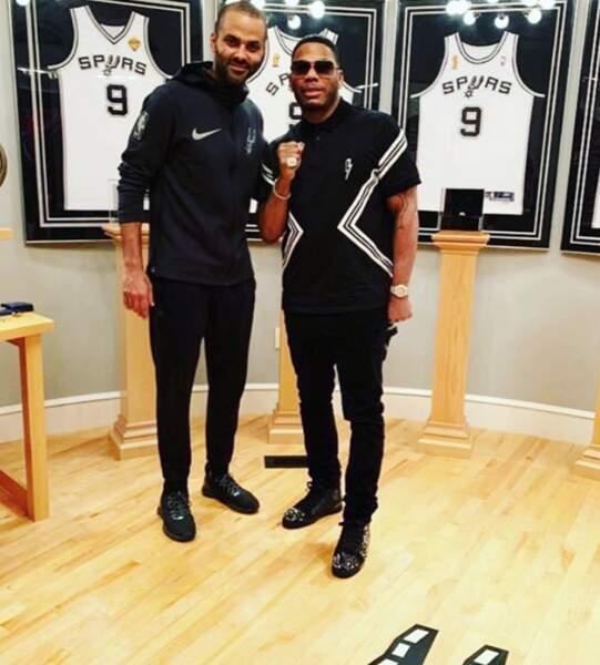 Le rappeur Nelly était aussi de la partie