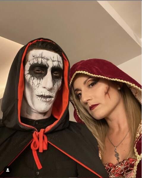 Quand le joueur du PSG et sa belle fêtent Halloween, ça ne plaisante pas !