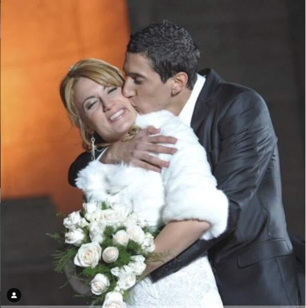En 2011, Angel Di Maria et Jorgelina se disaient oui...