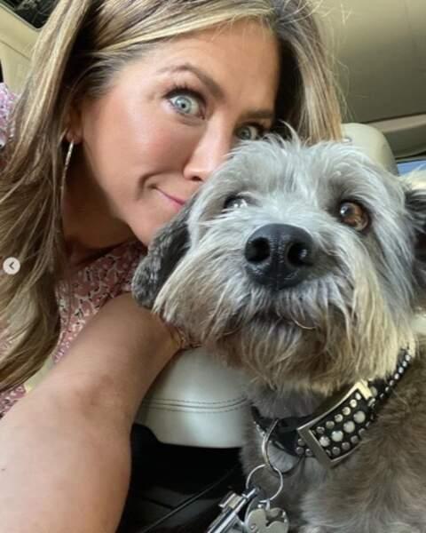 Voici Clyde, le meilleur ami de Jennifer Aniston.
