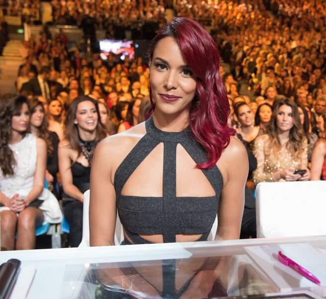 Shy'm a vu rouge lors de l'élection de Miss France 2015 où elle fut membre du jury.