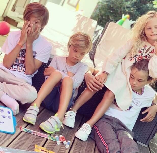 Elodie Gossuin est la maman de quatre enfants : Rose, Jules, Joséphine et Léonard