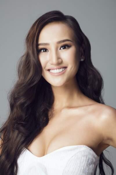 Miss Mongolie : Gunzaya Bat-Erdene