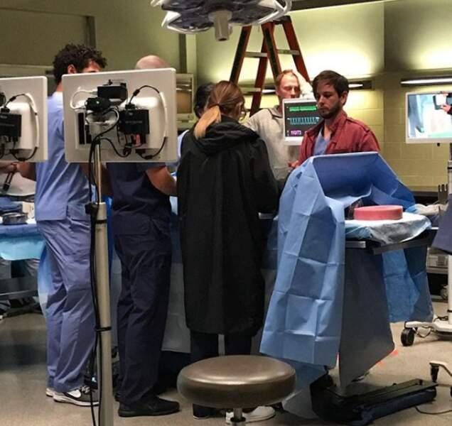 Quelle opération répètent les acteurs de Grey's Anatomy ?