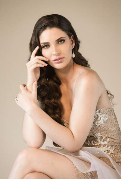 Miss Equateur : Cristina Hidalgo