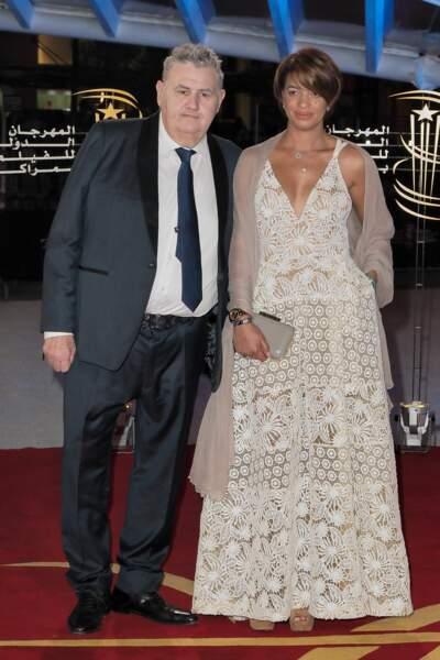 Pierre Ménès et sa chérie Melissa Acosta