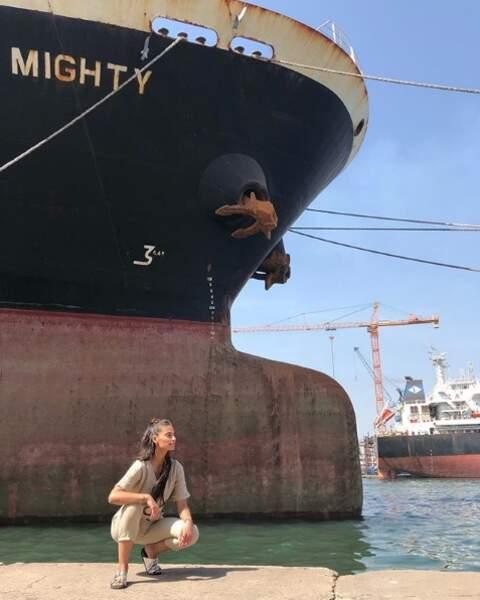 Ou ici, au port de Dakar, en novembre 2019