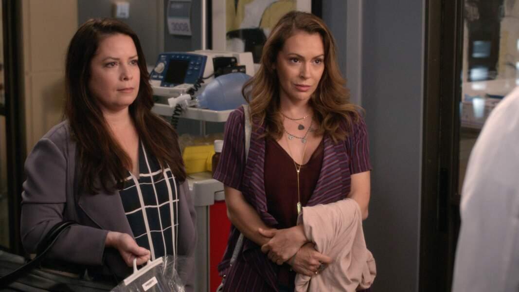 En 2019, on l'a revue avec Alyssa Milano dans Grey's Anatomy, plus de 10 ans après la fin de Charmed. Les comédiennes jouaient des soeurs comme à l'époque