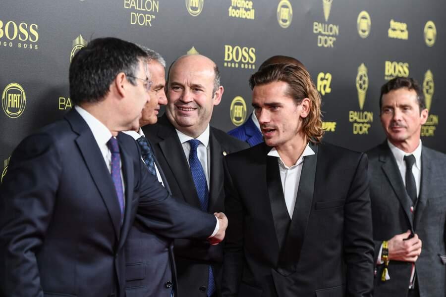 Son coéquipier à Barcelone, Antoine Griezmann, était à Paris également