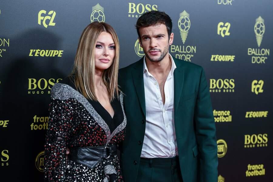 Autre couple glamour, Caroline Receveur et Hugo Philip
