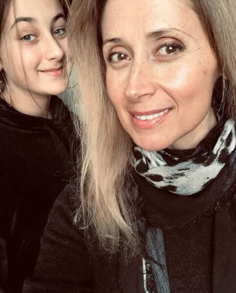 Lara Fabian nous a présenté sa fille Lou.