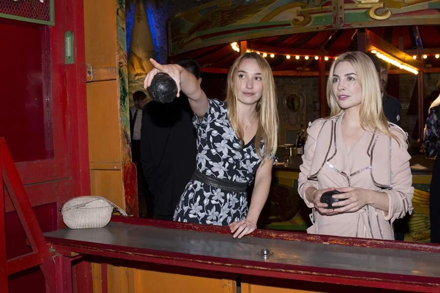 Les actrices Deborah Francois et Alix Benezech ont elles aussi tenté leur chance