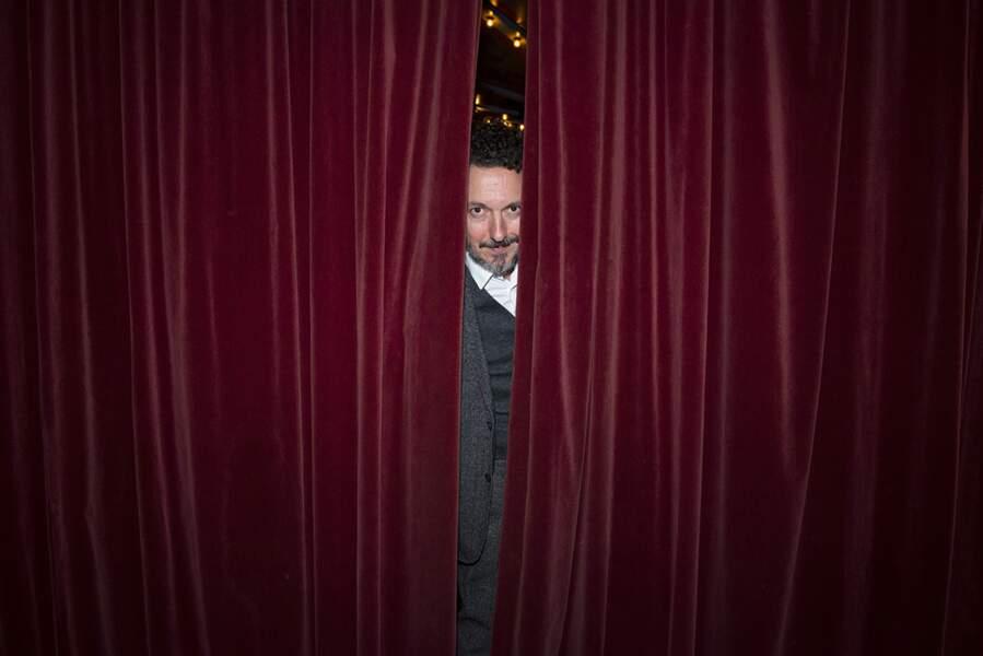 Farceur, Guillaume Gallienne de la Comédie-Française a improvisé une partie de cache-cache