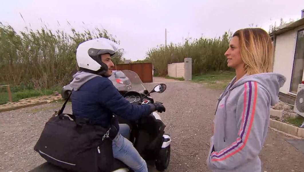Au moment de se dire au revoir, Sandrine et Lionel promettaient de se revoir vite. Viendra-t-elle avec lui au bilan ?
