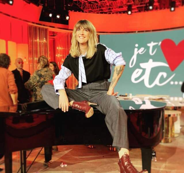 Mais avec Je t'aime etc sur France 2, elle s'est recréée une famille…
