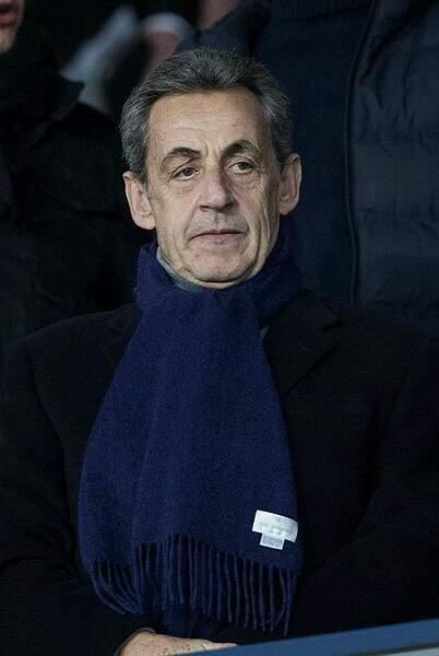 Tout comme un autre habitué, l'ancien président Nicolas Sarkozy