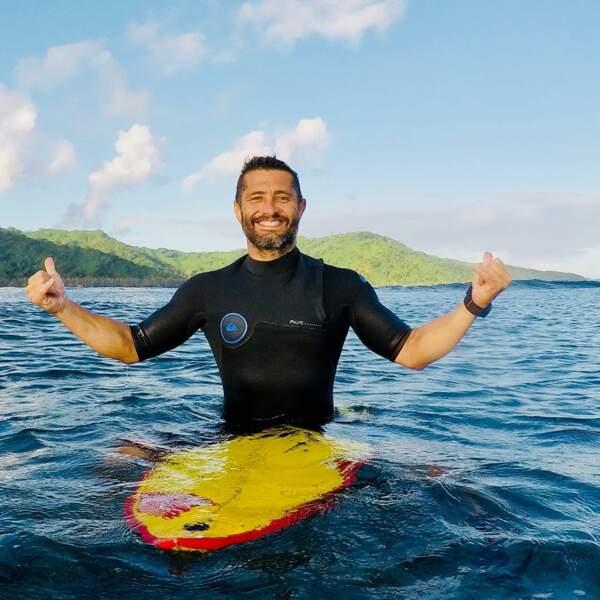 Le compte Instagram de Bixente Lizarazu c'est du surf...