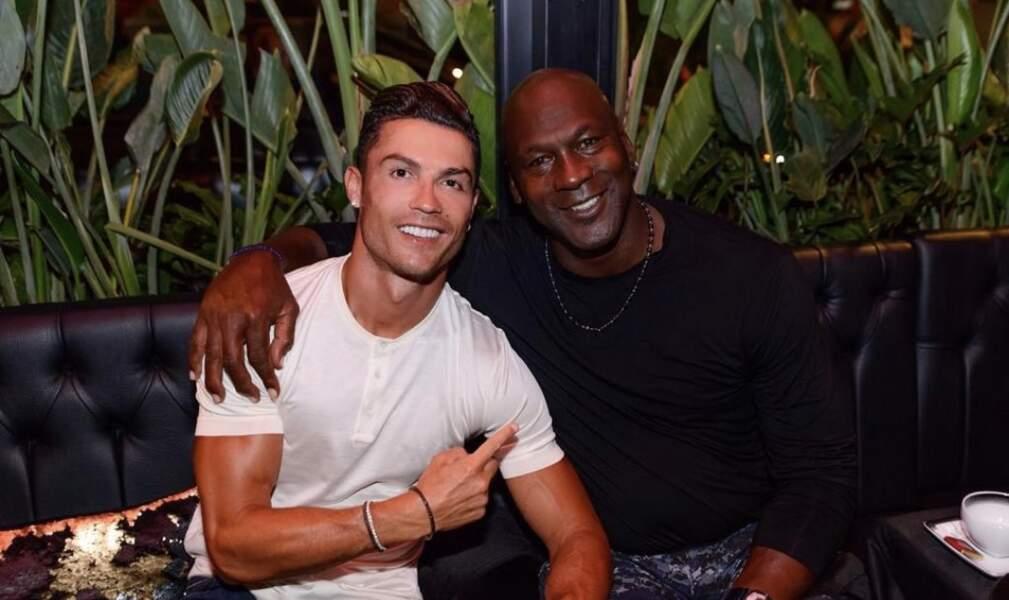 Récemment, le quintuple Ballon d'or a rencontré un certain Michael Jordan !