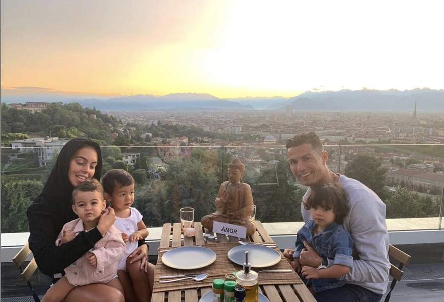 Cristiano Ronaldo partage la vie du mannequin argentin, Georgina Rodriguez