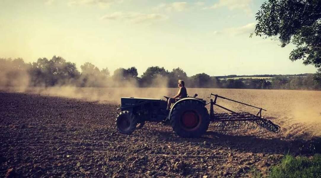Daphné est d'ailleurs la première fan de son papa qui a abandonné sa carrière pour devenir agriculteur bio !