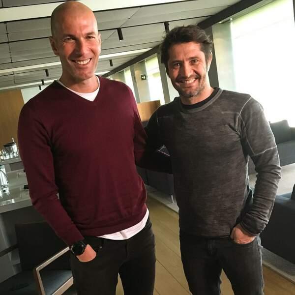 Petit souvenir de 1998 avec Zidane !