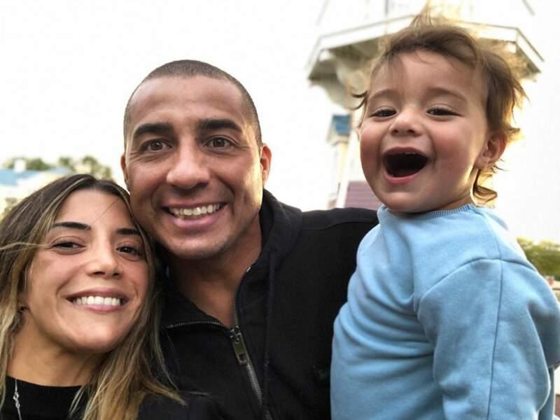 S'il a deux fils d'une première relation, David Trezeguet est devenu papa pour la troisième fois d'un petit garçon