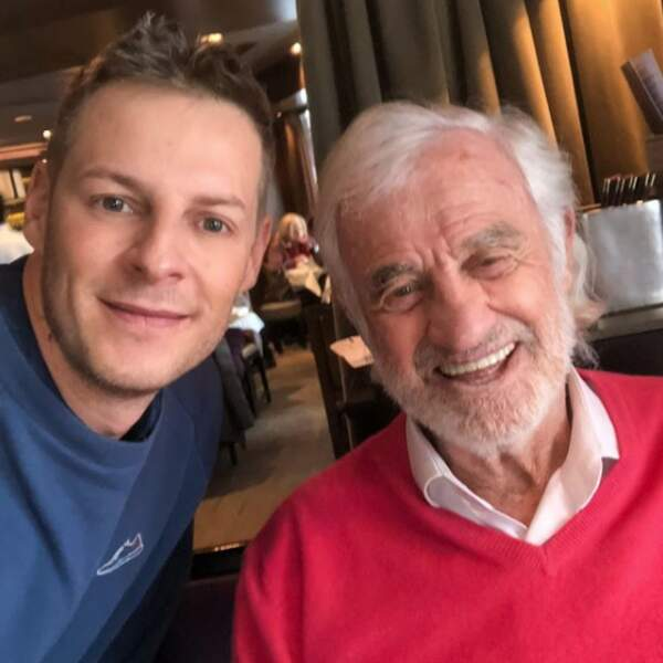 Matthieu est un grand fan de Jean-Paul Belmondo... qu'il a pu rencontrer !