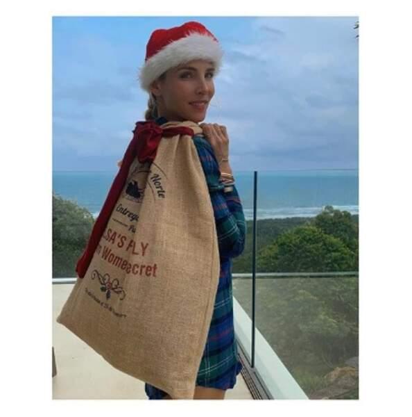Et que vous avez déjà un peu avancé dans vos cadeaux de Noël. Elsa Pataky peut aider, si vous voulez.