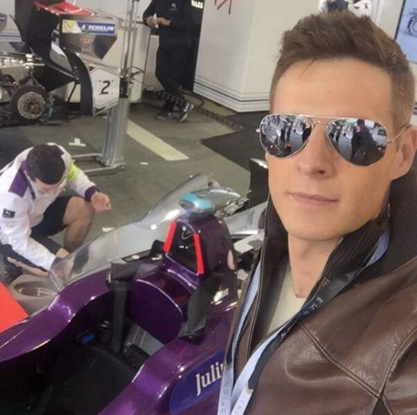 Matthieu Delormeau a une grande passion pour la Formule 1...