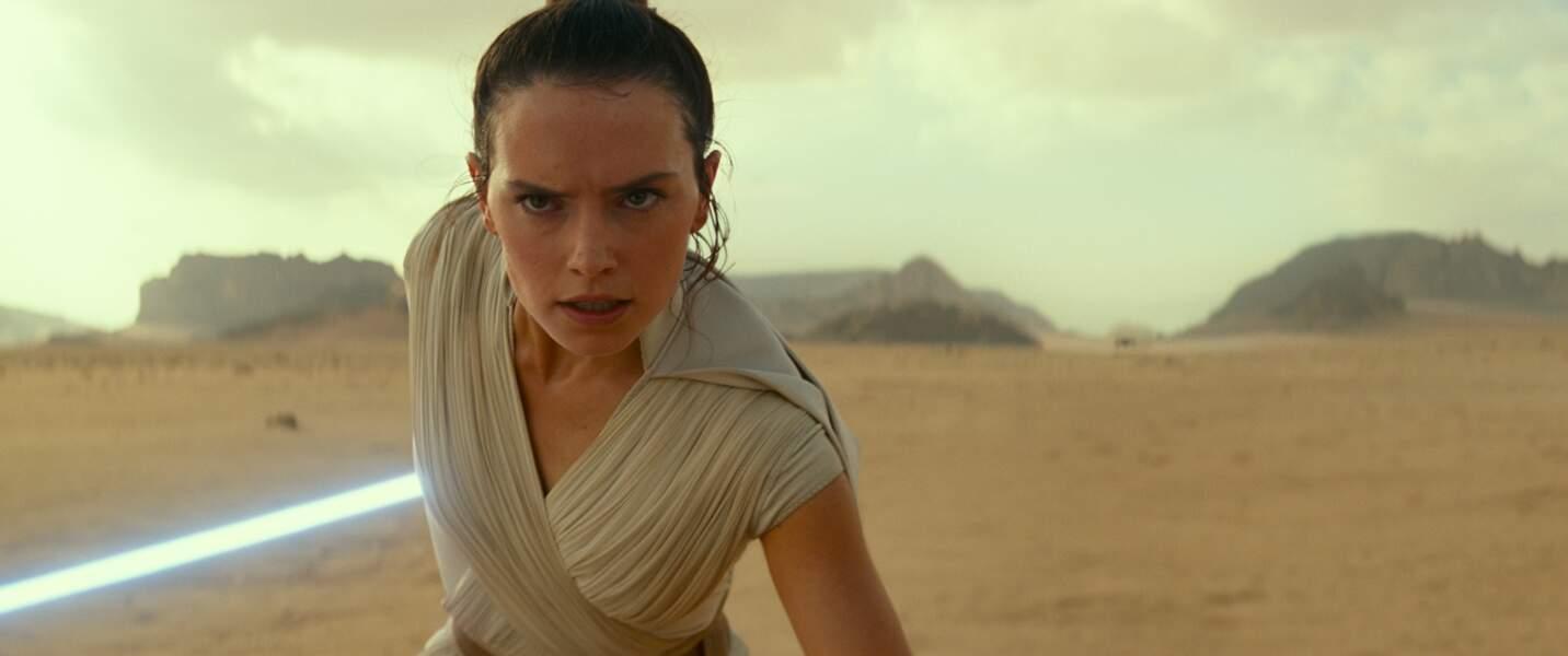 Daisy Ridley (Rey) dans L'Ascension de Skywalker