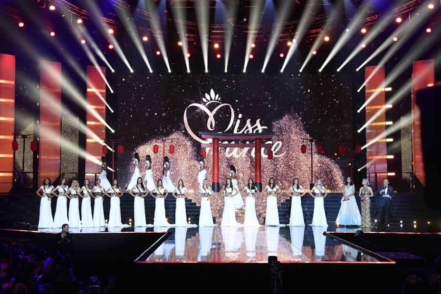 Ont été qualifiées Miss Guadeloupe, Miss Bourgogne, Miss Provence, Miss Alsace, Miss Saint-Martin Saint-Barthélémy...