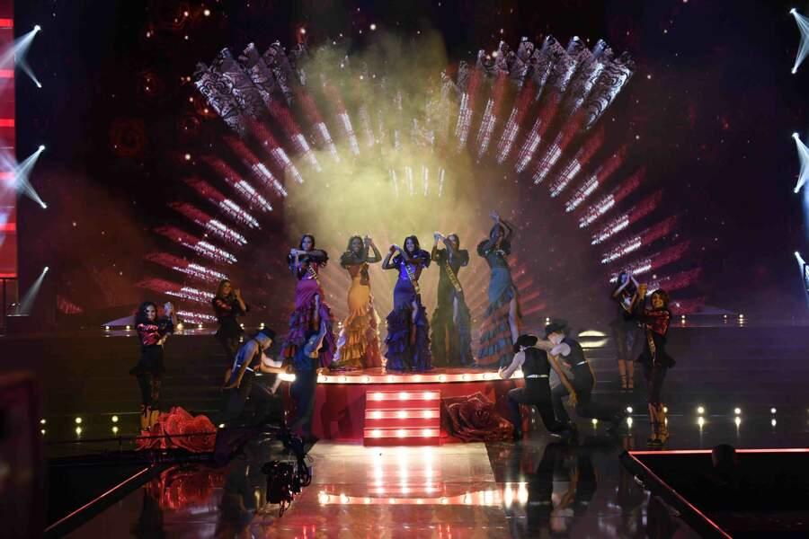 Les Miss se sont essayées au flamenco !
