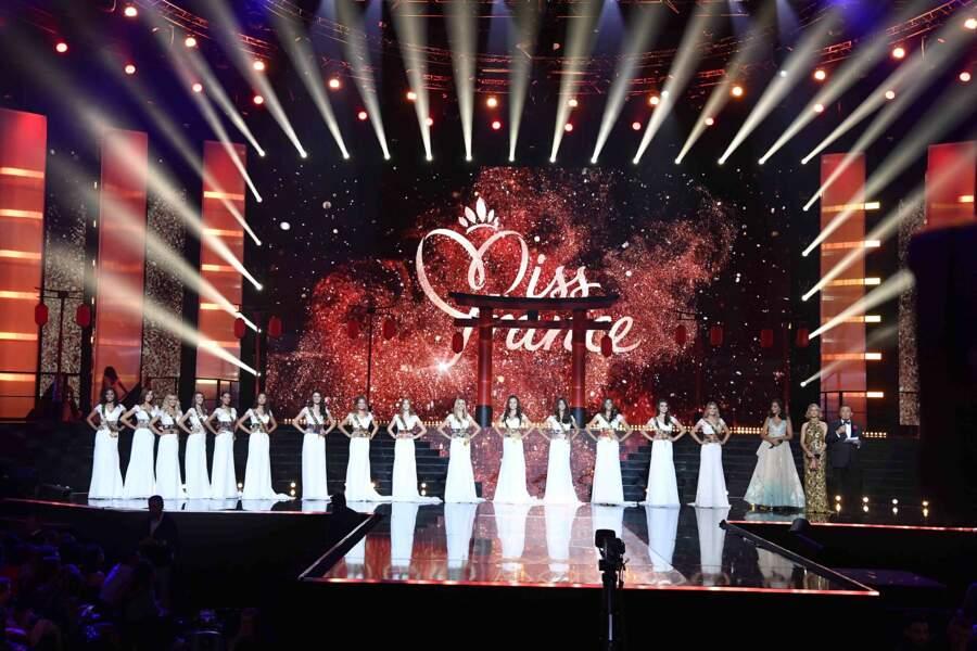 Miss Ile-de-France, Miss Aquitaine, Miss Côte d'Azur, Miss Normandie, Miss Centre-Val-de-Loire...