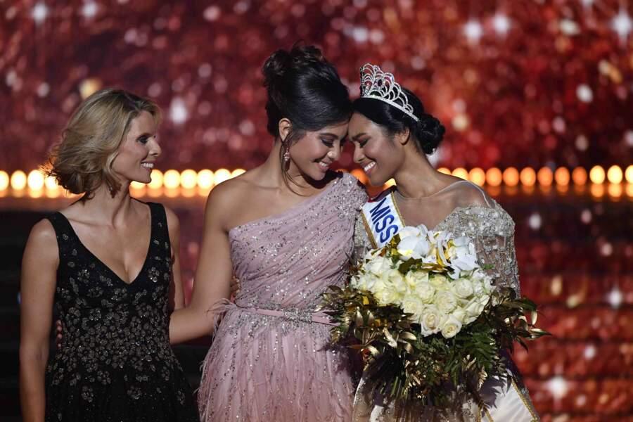 Et c'est Clémence Botino, Miss Guadeloupe, qui a été couronnée Miss France 2020