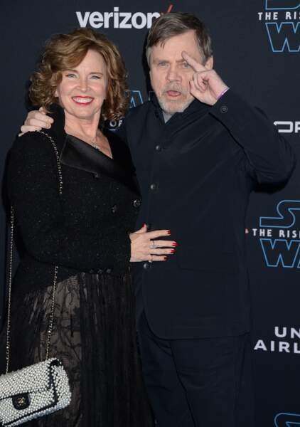 Mark Hamill et son épouse Marilou York