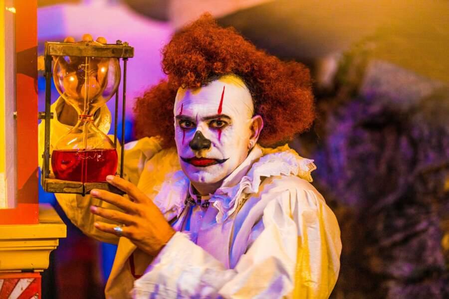 Pass'idrôle, le clown de Boyard Land