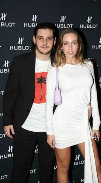 Soirée en amoureux pour Carla Ginola et Adrien Erka à la Fondation Vuitton