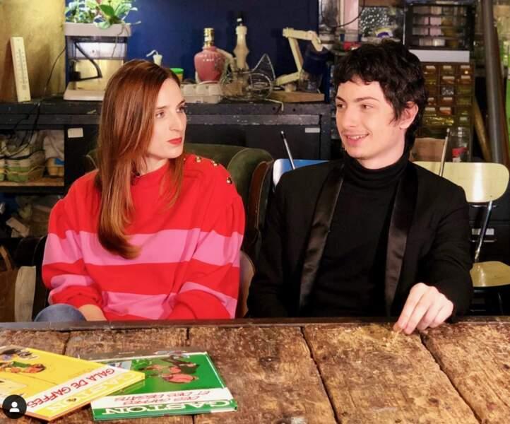 Alison Wheeler a tourné avec Théo Fernandez pour le film Gaston Lagaffe.