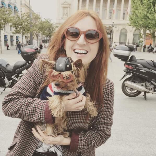 La chroniqueuse de Quotidien a une vraie passion pour les animaux !