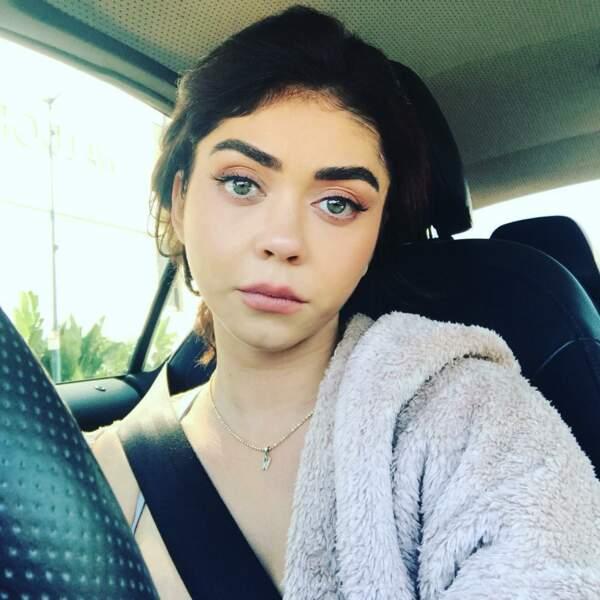 Comme tout le monde, l'actrice déteste les embouteillages