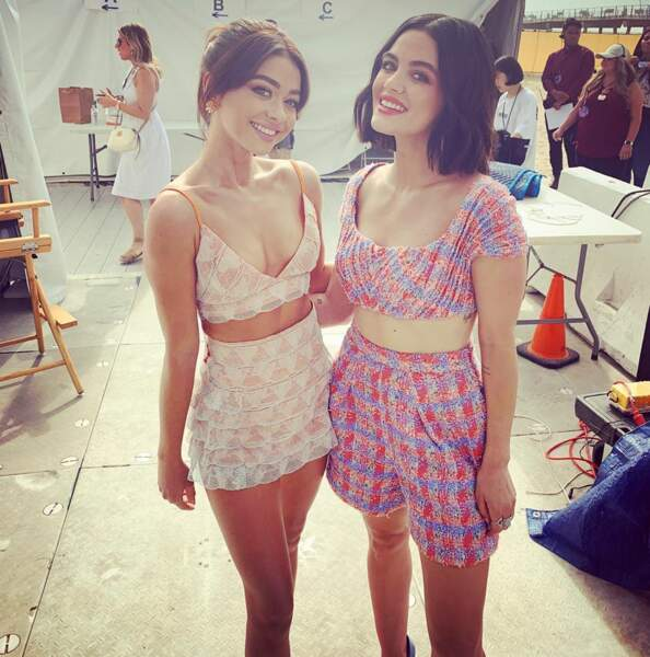 Très proche de Lucy Hale (Pretty Little Liars), les deux jeunes femmes se soutiennent toujours dans leur carrière