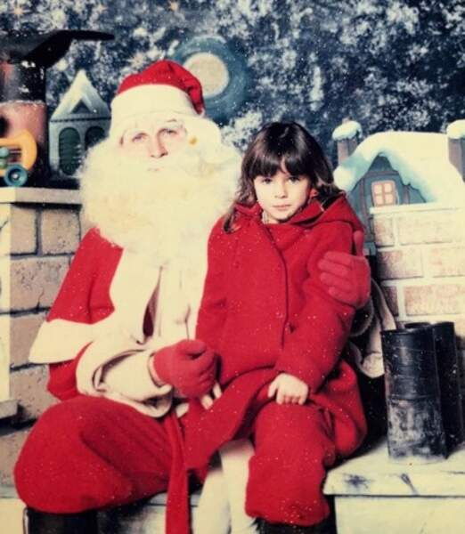 Clara Morgane a rencontré le vrai Père Noël.